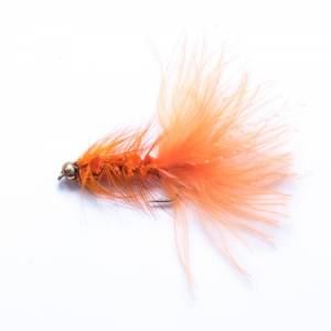 Orange Wooly Bugger - December Fly of the Month