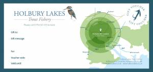 Holbury Lakes Gift Voucher Back