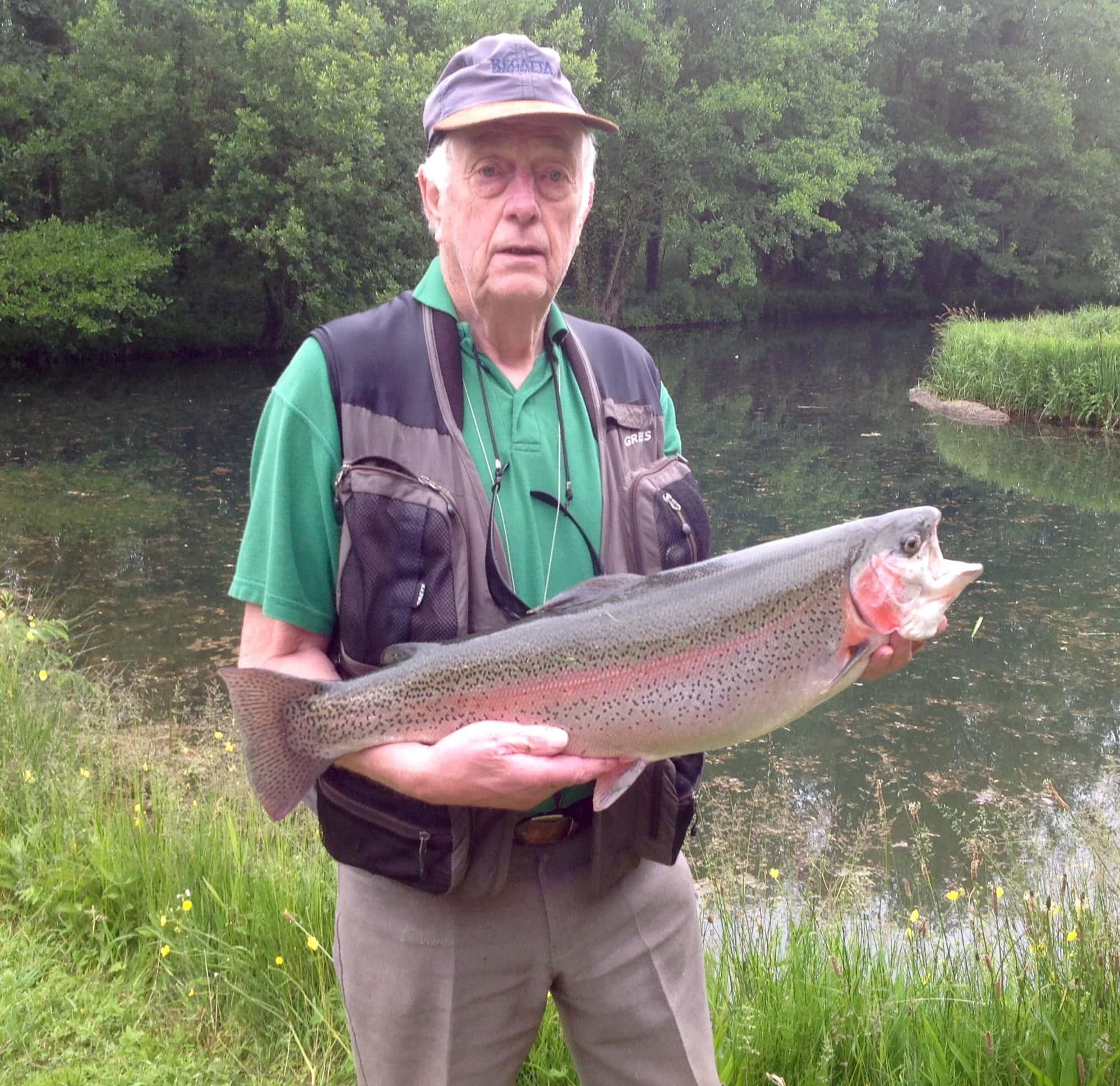 Tony Griff - Rainbow Trout - 11lb 12oz