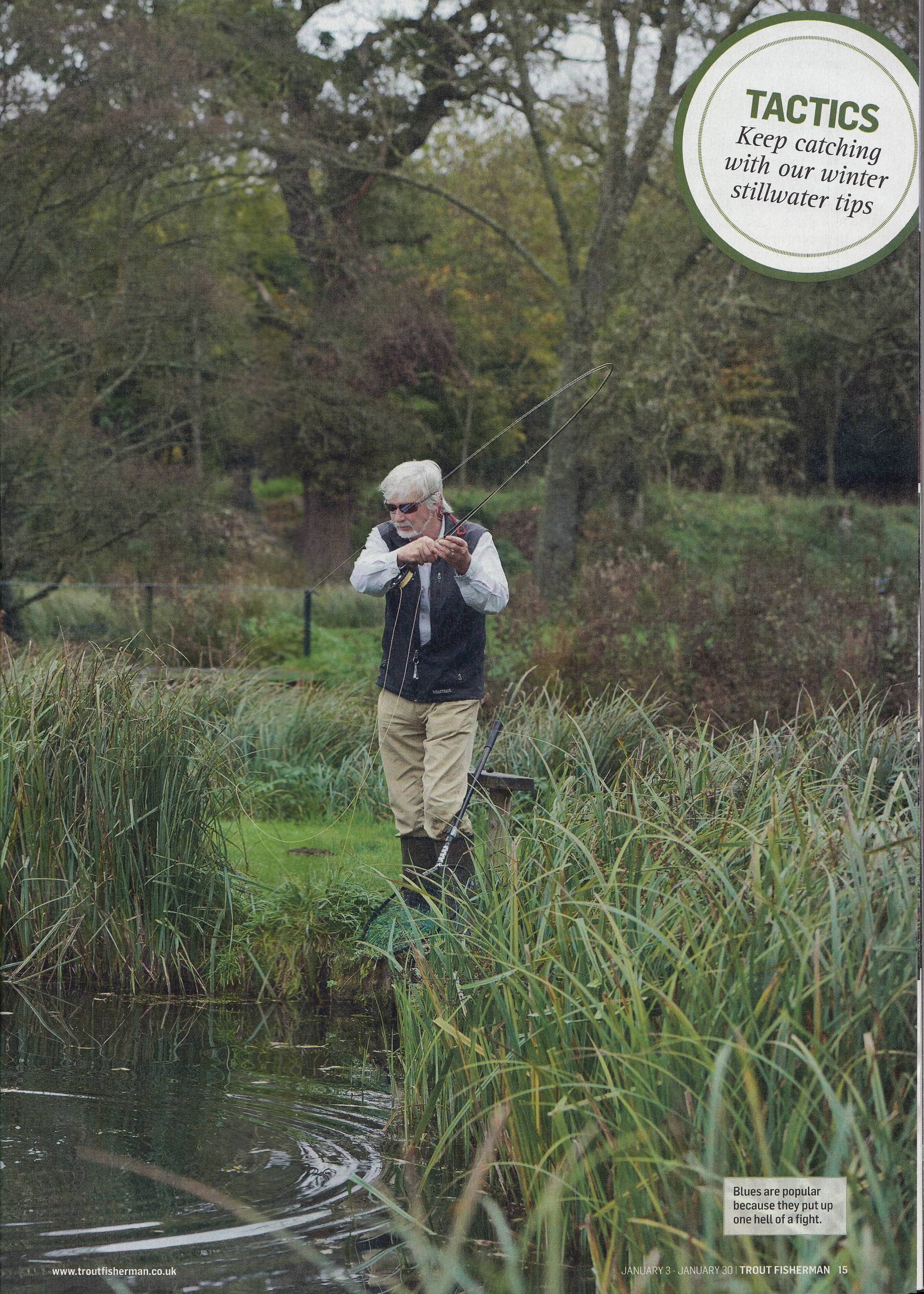 Battling the Blues - Trout Fisherman Holbury Lakes Page 2