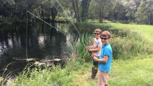 First fishing lesson