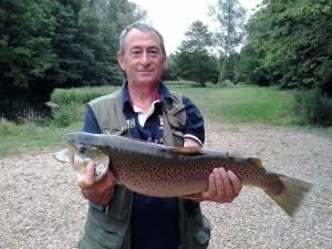 Mr Dave Cross – Brown Trout – 10lb 10oz