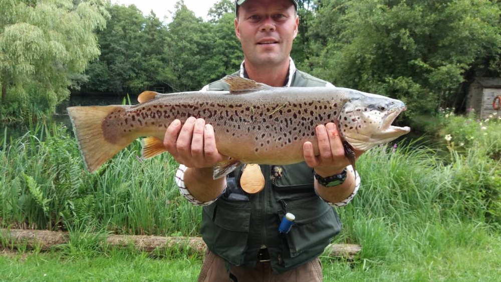 Peter Major – Brown Trout – 8lbs 8oz