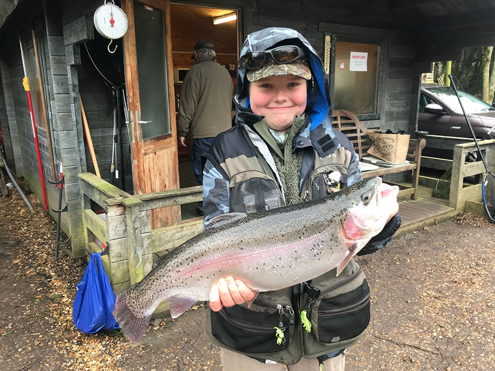 Tom Letham 5lb 8oz Rainbow